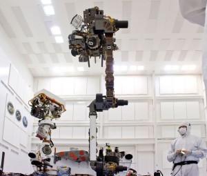 Curiosity's robotic arm